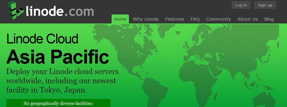 服务器转到linode,非常给力的VPS!