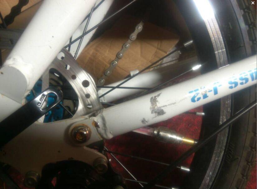 爱色彩折叠山地车自行车怎么样 实际体验曝光恶劣商家