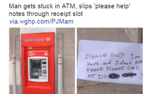 真相:原来每台ATM后面都有一个默默无闻的人在操作的