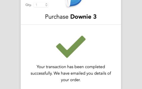 以4.87美刀的超级低价购买视频下载神器Downie 3