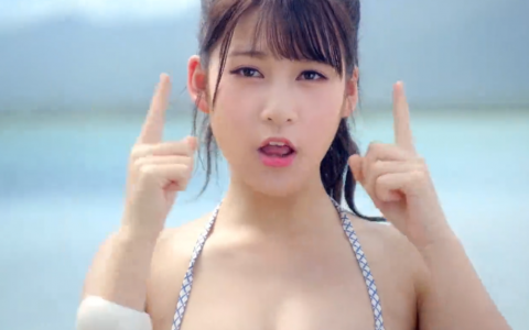 SNH48泳装MV《梦想岛》[超清版]