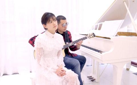 好听!郝浩涵与钟恩淇 吉他弹唱 《跟你住》