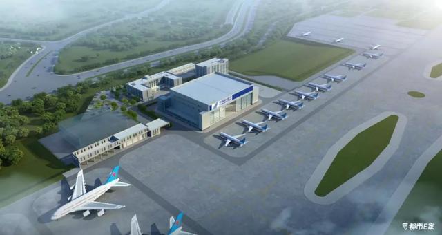 """专修""""灰机""""!贵州最大飞机维修库开建,可维修波音737、空客A330"""