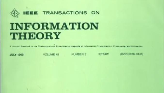 香农——70 多年前就已经把 5G 的下载速度给定义的人