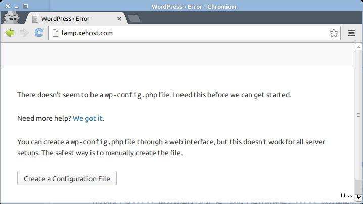 VPS 教程系列:Ubuntu + LAMP + nginx + WordPress 配置使用