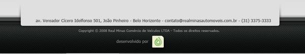 如何制作一个简洁、光滑的web2.0网站页脚